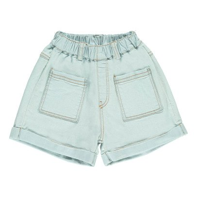 Tambere Denim Shorts with Elasticated Waist-product