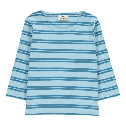 Acne Studios T-shirt Rayé Mini Nimes-listing