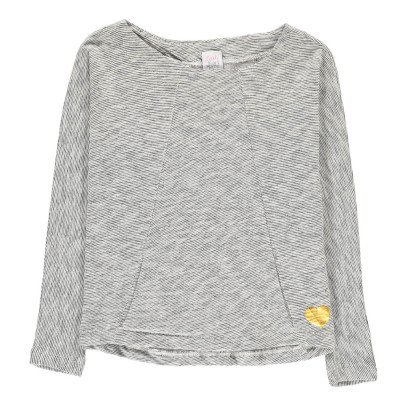 Little Karl Marc John Camiseta Lino Jaspeado Corazón Tonny-listing