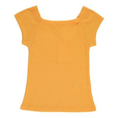 NICE THINGS MINI T-Shirt Côtelé Col Carré-listing
