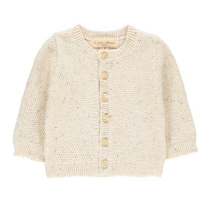 Lab - La Petite Collection Fluffy Stitch Mottled Cardigan-listing