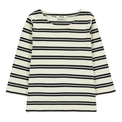 Acne Studios Gestreiftes T-Shirt Mini Nimes -listing