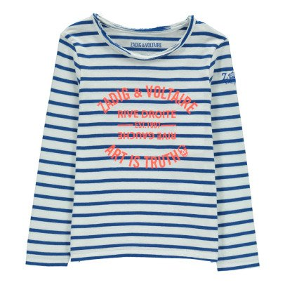 Zadig & Voltaire T-shirt Righe-listing