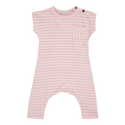 1+ IN THE FAMILY Ferran Pocket Striped Jumpsuit-listing