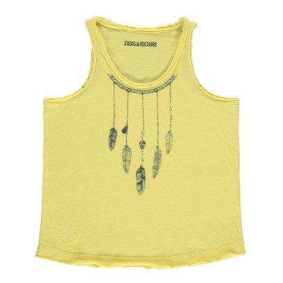 Zadig & Voltaire Camiseta Plumas Hilda-listing