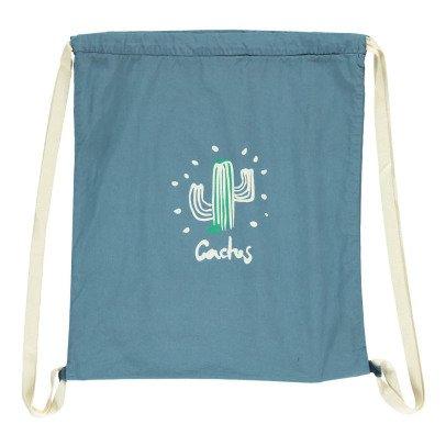 Buho Cactus Linen Sports Bag-listing