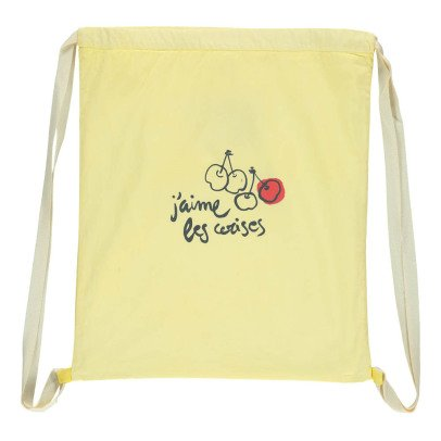 Buho Cherries Linen Sports Bag-product