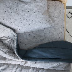 Camomile London Keiko Hand Embroidered Quilted Duvet-listing