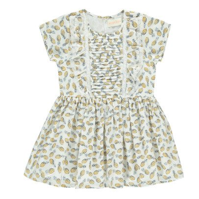 Simple Kids Mexico Ruffled Pineapple Dress-product