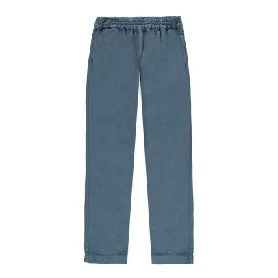 Morley Floris Cotton and Linen Trousers-listing