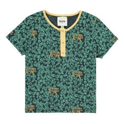 Blune Kids T-shirt Foglie Tigri -listing