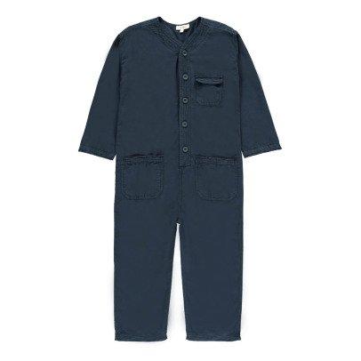Caramel Soko Cotton Linen Jumpsuit-listing