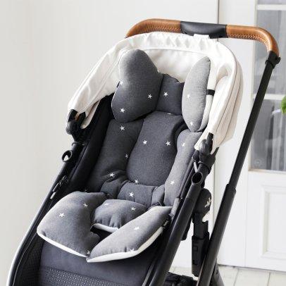 Borny Coussin confort bébé étoiles-listing