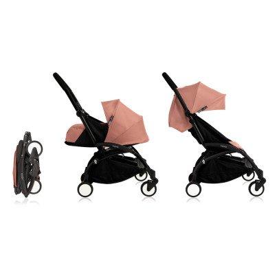 Babyzen Kinderwagen komplett new Yoyo+ erweiterbar 0-5 Jahre, Gestell schwarz-listing