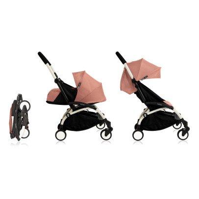 Babyzen Kinderwagen komplett new Yoyo+ erweiterbar 0-5 Jahre, Gestell weiß-listing