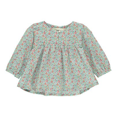 Poppy Rose Blusa Liberty Flores Christine-listing