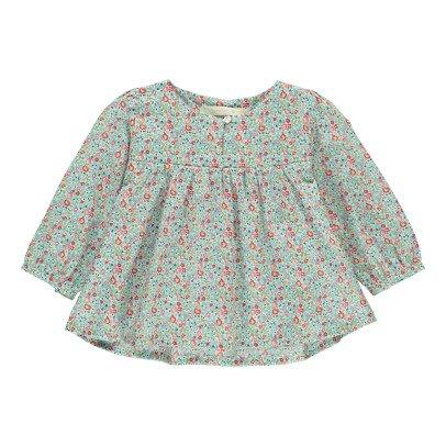 Poppy Rose Christine Floral Liberty Blouse-listing