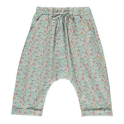 Poppy Rose Coco Floral Liberty Harem Trousers-listing