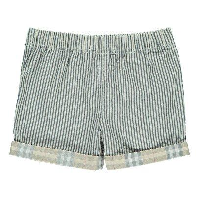 Burberry Shorts Risvoltino Righe-listing