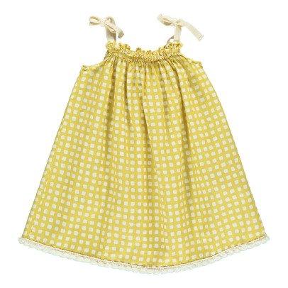 Babe & Tess Vestito Prendisole Quadretti-listing