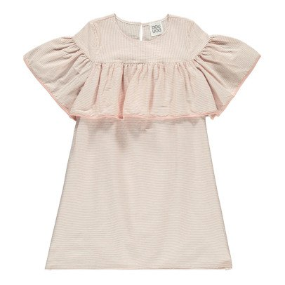 Douuod Negativo Striped Dress-listing