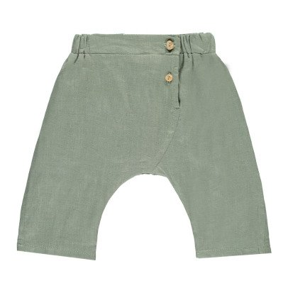 Omibia Taylor Linen and Organic Cotton Harem Trousers-listing