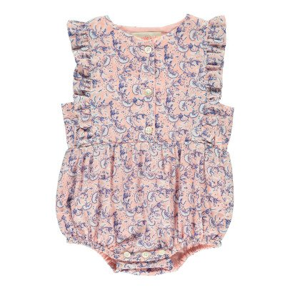 Simple Kids Perth Ruffled Floral Romper-listing