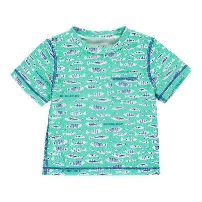 Burberry T-Shirt de Bain Protection UV Walter Fish-listing