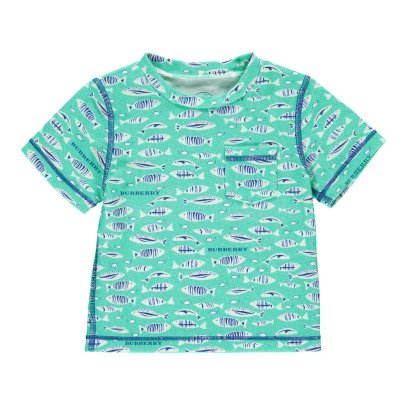 Burberry T-Shirt Mare Protezione UV Walter Fish-listing