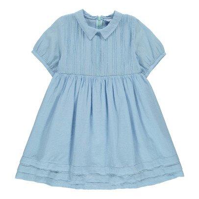 Morley Vestido Plisado Cuello Fanny-listing