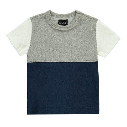 Howlin Zweifarbiges T-Shirt Little Sunforest-listing
