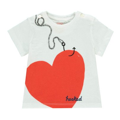 Burberry T-Shirt Love Hooked-listing