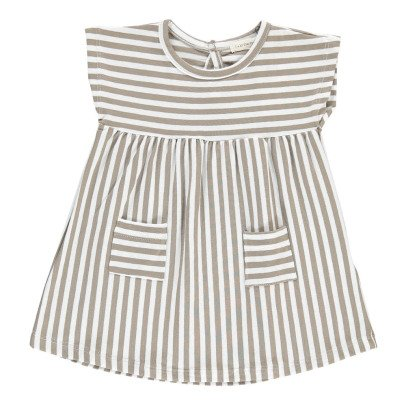 1+ IN THE FAMILY Carol Pocket Striped Dress-listing