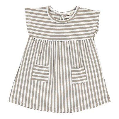 1+ IN THE FAMILY Gestreiftes Kleid mit Tasche Carol -listing
