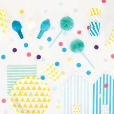 My Little Day Formine per dolci diagonali gialle - Set da 25-listing