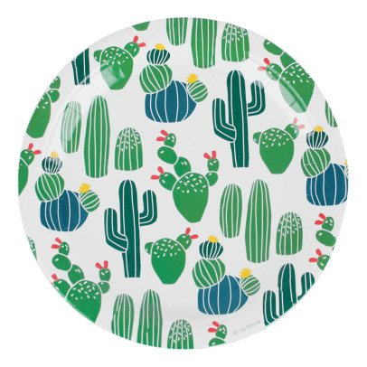 My Little Day Cactus Cardboard Plates - Bunch of 8-listing