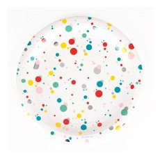 product-My Little Day Bubble Paper Plates - Set of 8