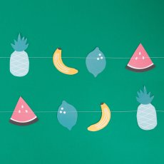 My Little Day Fruit Paper Garland-listing