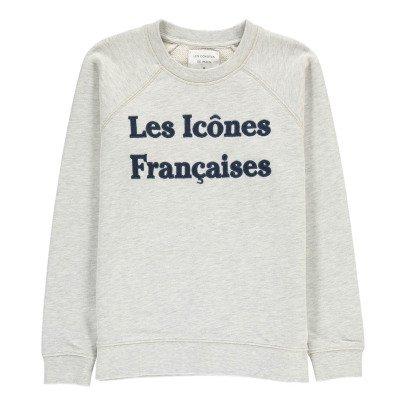 """Les coyotes de Paris Sweat """"Les Icônes Françaises"""" Carole-listing"""