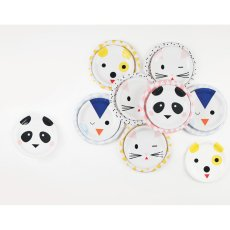 My Little Day Animal Paper Plates - Set of 8-listing