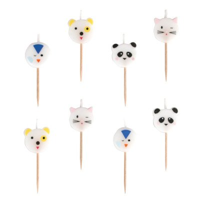 My Little Day Animal Birthday Candles - Set of 8-product