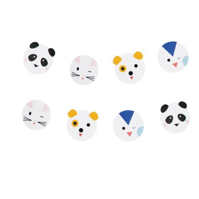 My Little Day Animal Paper Garland-listing