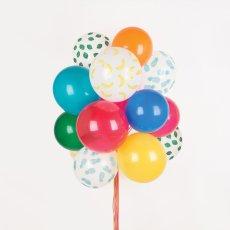 My Little Day Ballons imprimés Fruits - Lot de 5-listing