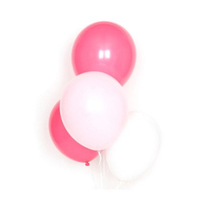 My Little Day Set of 10 latex balloons - pink-listing