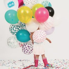 My Little Day Set of 10 latex balloons - pink-product