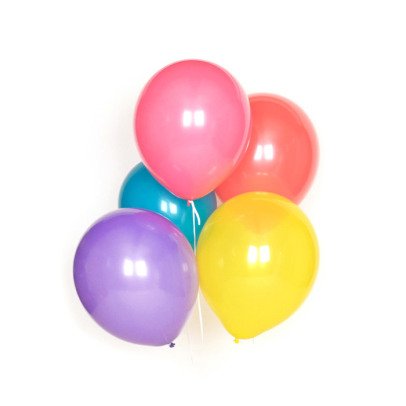 My Little Day Bunte Luftballons aus Latex-10 Stück -listing