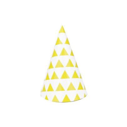My Little Day Sombrero puntiagudo triángulos amarillos - Lote de 8-listing