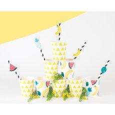 My Little Day Gobelets en carton Fruits - Lot de 8-listing