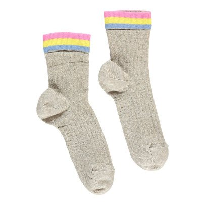 Simple Kids Feliz Lurex Socks-listing