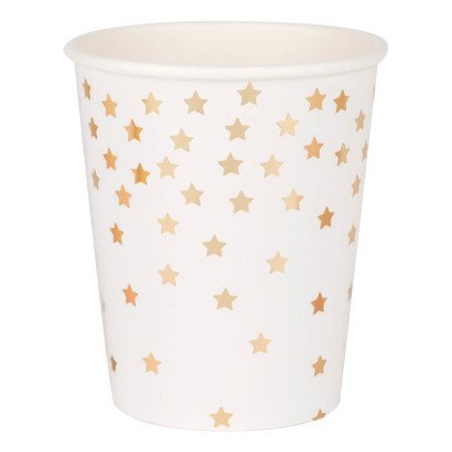 My Little Day Metallic Star Paper Cups - Set of 8-listing